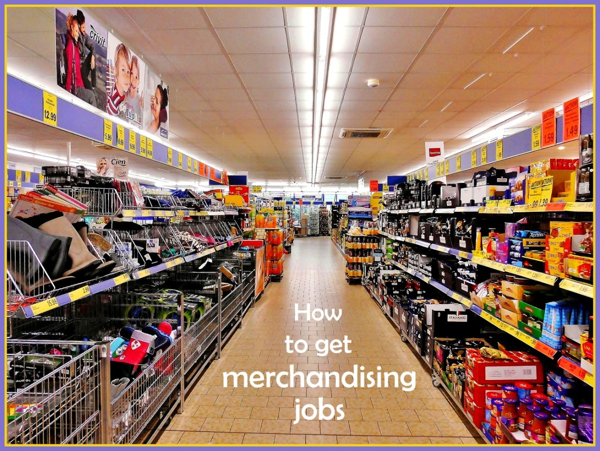 All the tips you need to get your first merchandising job