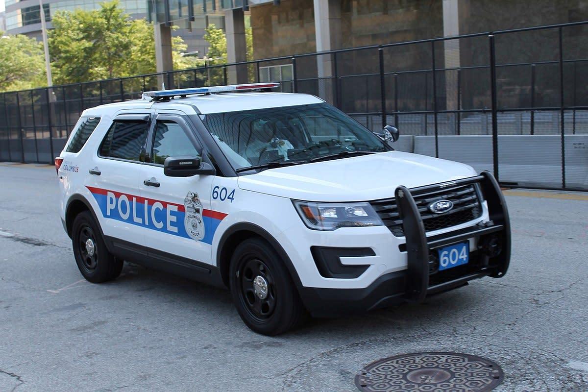 Columbus Ohio Police Ford Interceptor SUV.