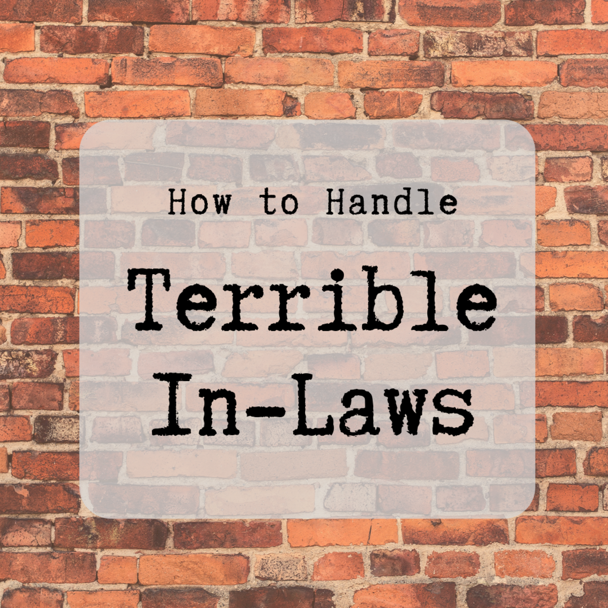 3 Tips for How to Deal When You Can't Stand Your In-Laws