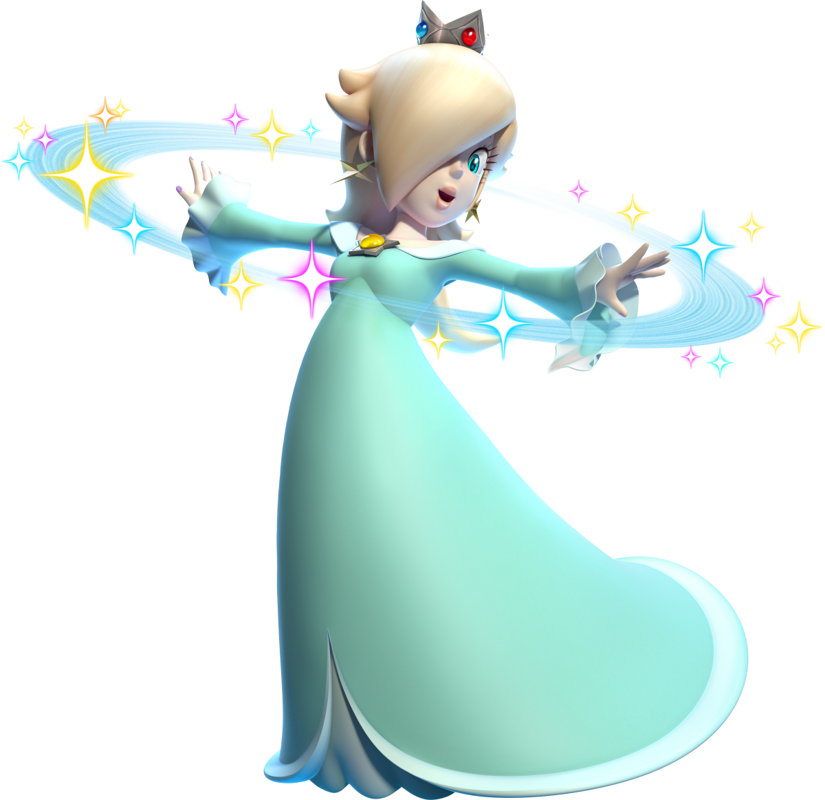Is Rosalina Peach's Daughter? The Reshuffle Theory