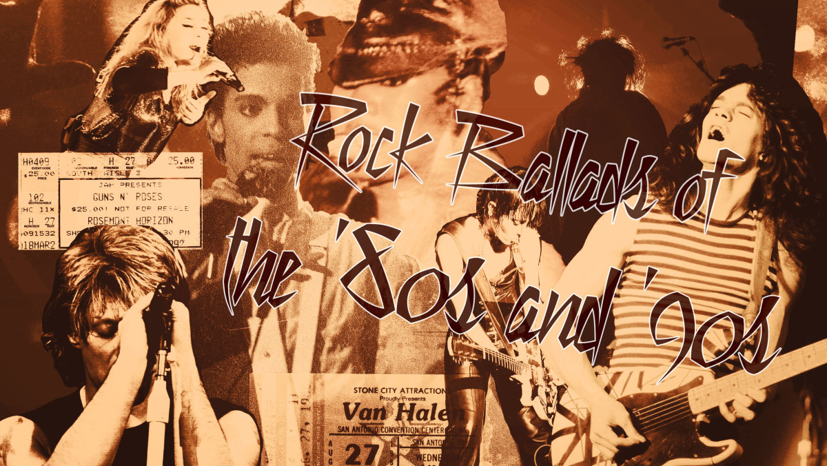 Rock Ballads of the '80s and '90s!
