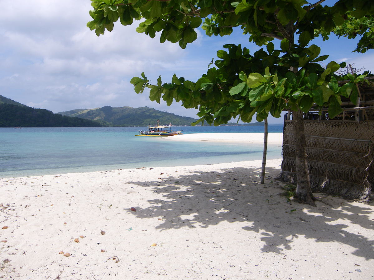 Pristine Beach in Concepcion, Iloilo, Philippines