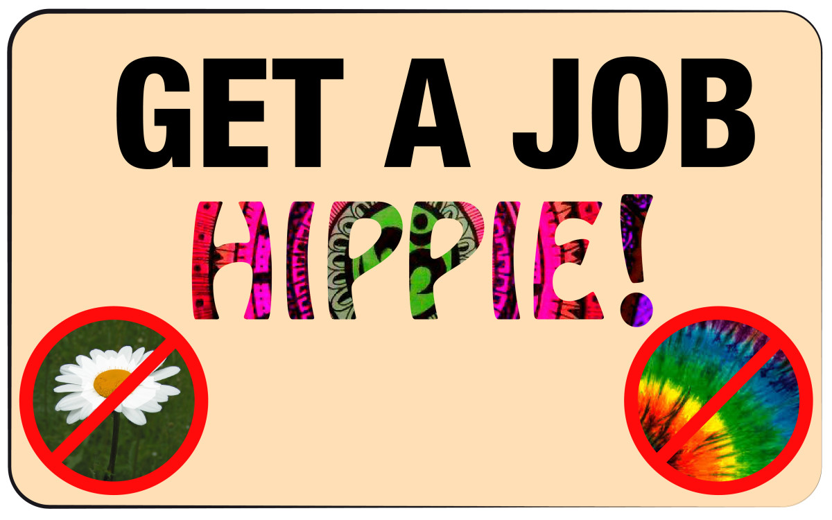 Jobs for hippies, bohemians, and free spirits.