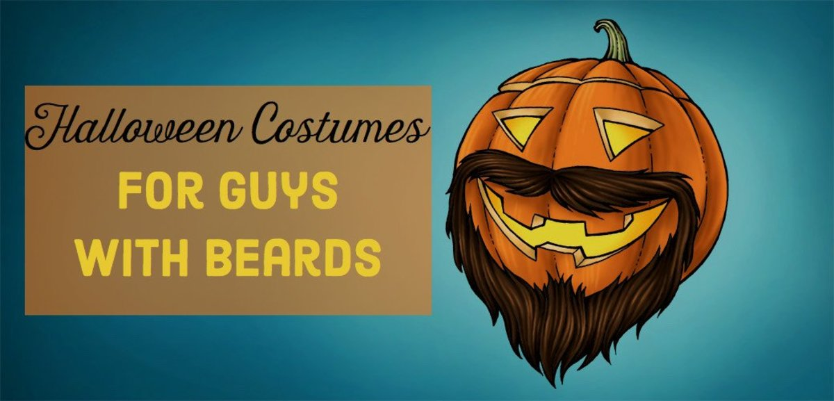 10 Last-Minute Halloween Costumes for Guys With Beards