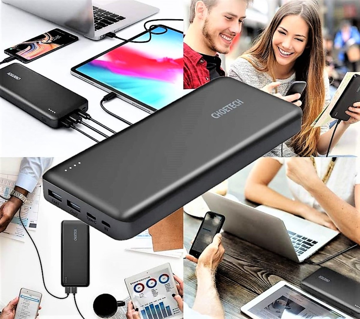 Choetech 20000mAh 45W PD Power Bank
