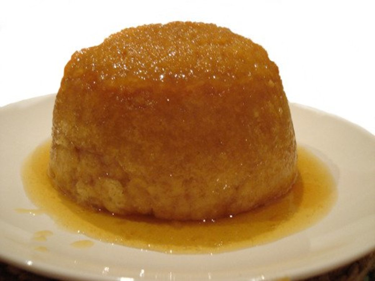 Learn how to make a delicious steamed sponge pudding in the microwave!