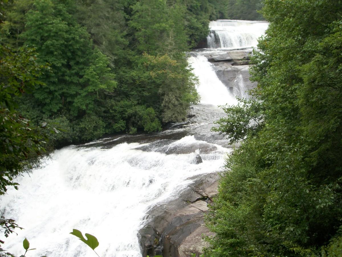 Cedar Falls >> Dupont State Forest - Cedar Mountain, NC