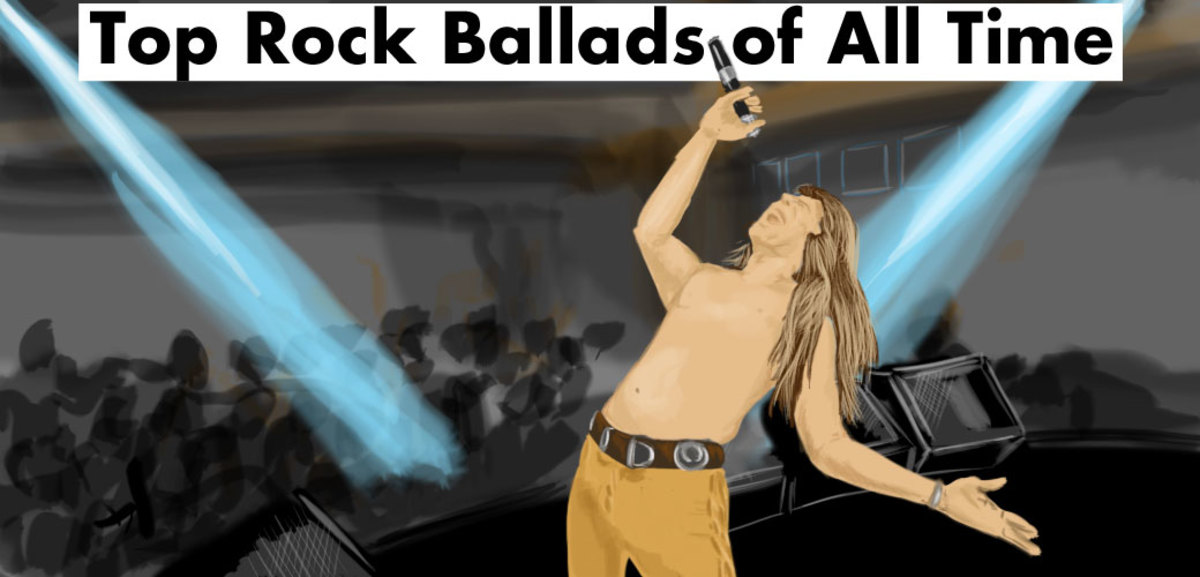 Here is a list of the top rock ballads of all time.