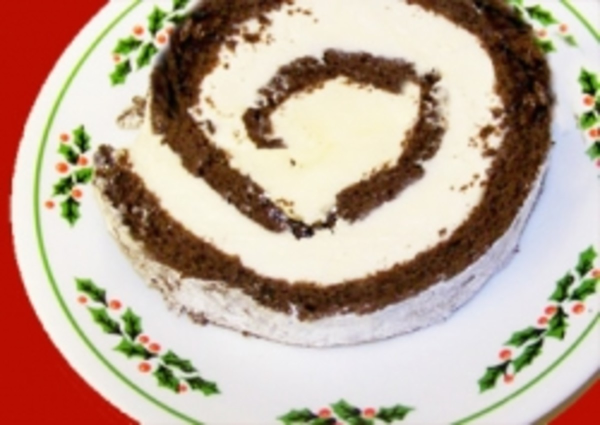 Ice Cream Cake Roll: Yule Log Recipe for the Holidays