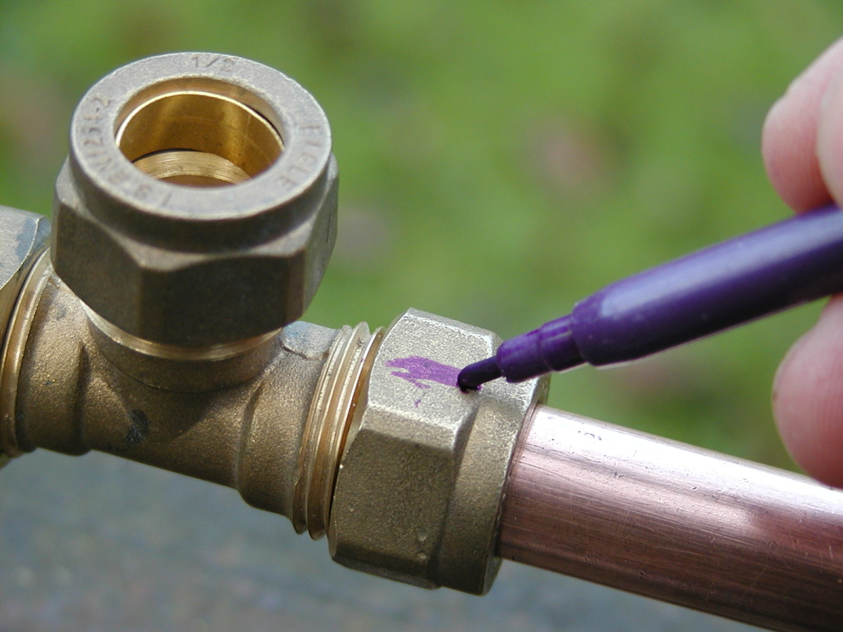 How to use plumbing fittings for joining pvc pex and