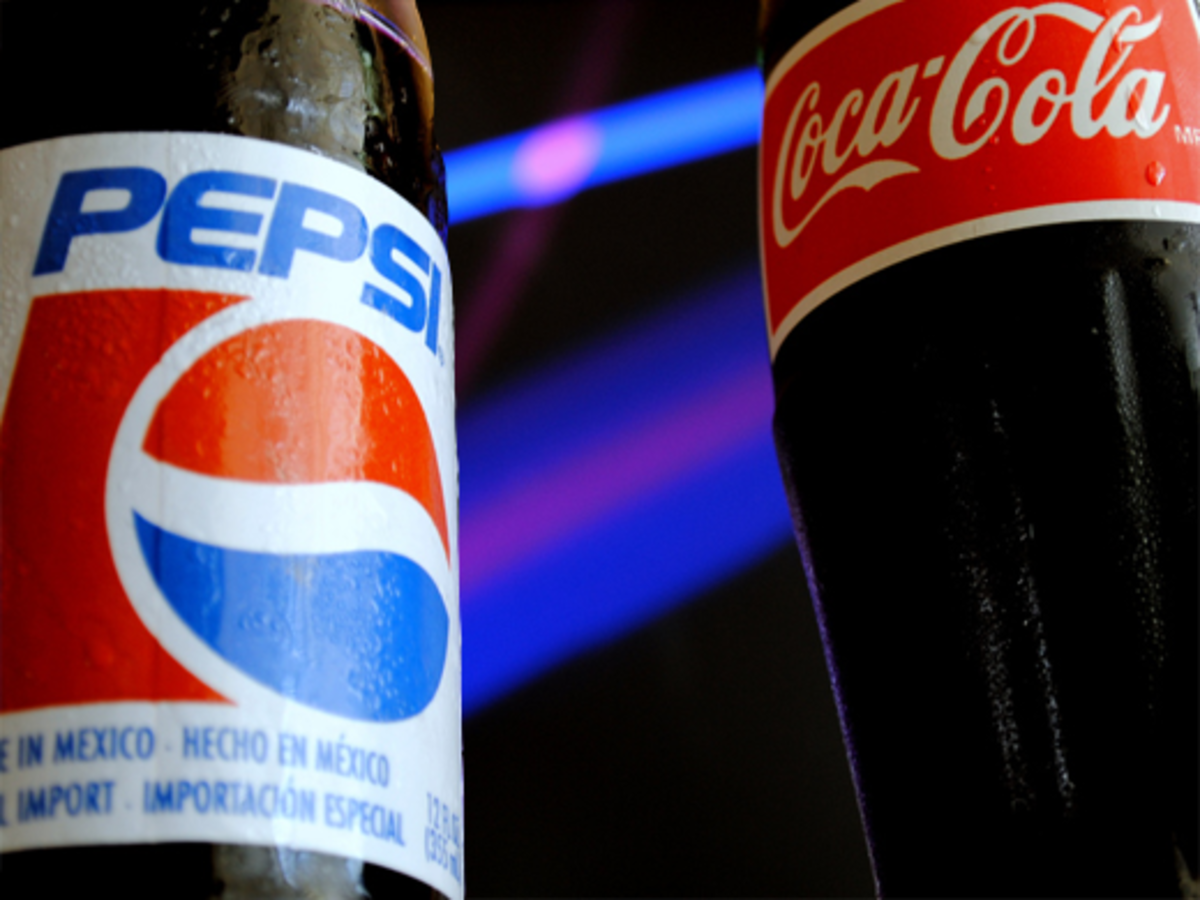 Pepsi and Coca-Cola are both great for clearing drains.
