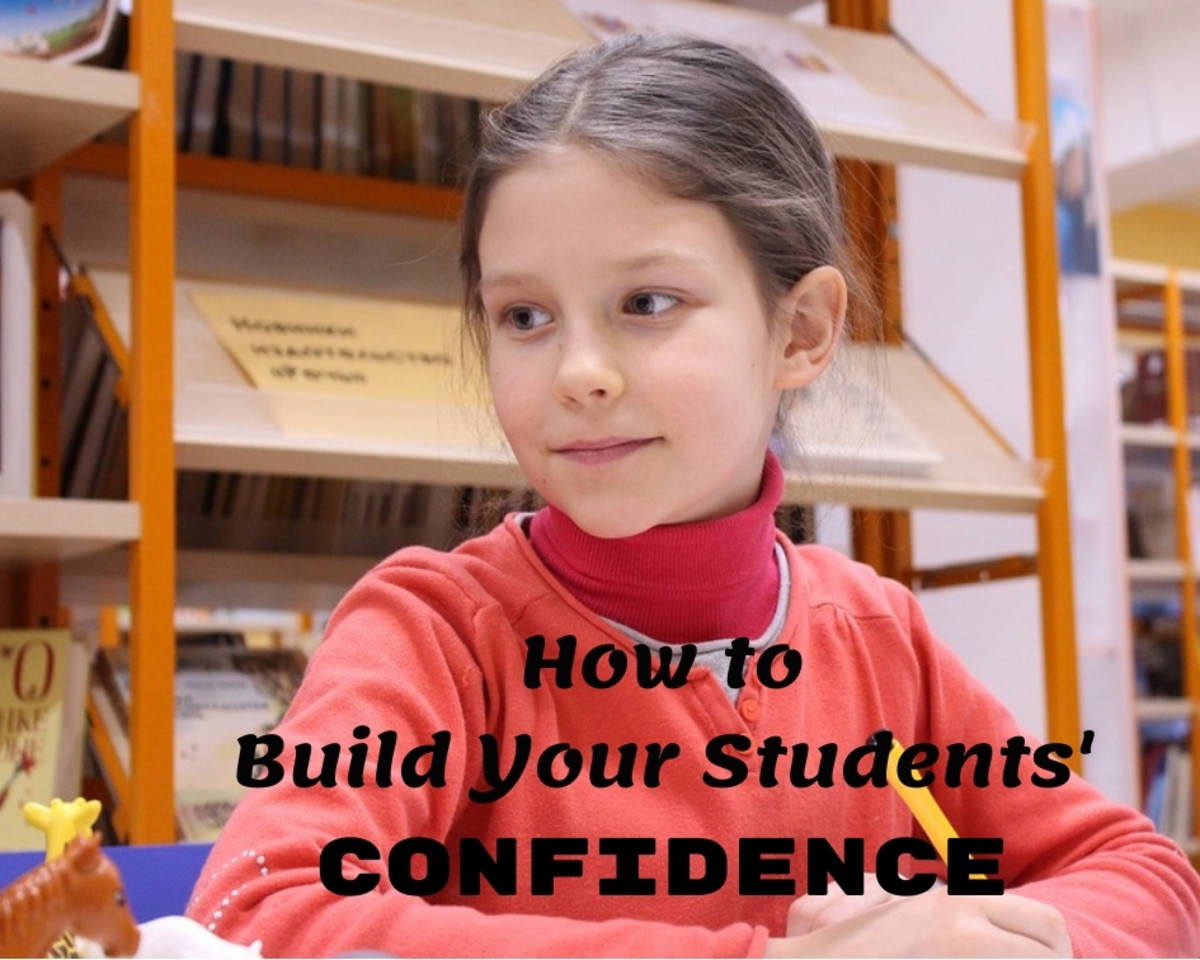 A confident student is a successful student.