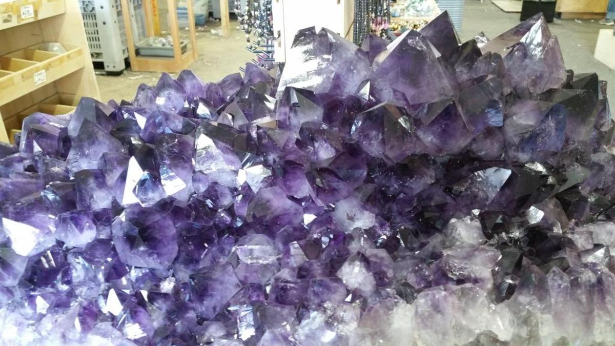 Amethyst is often used in breaking bad habits.