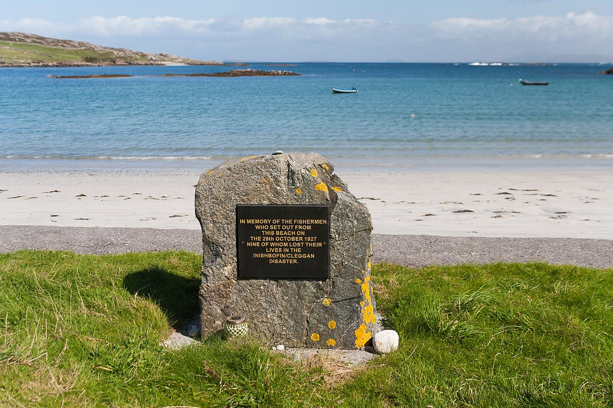 The Cleggan Bay Tragedy