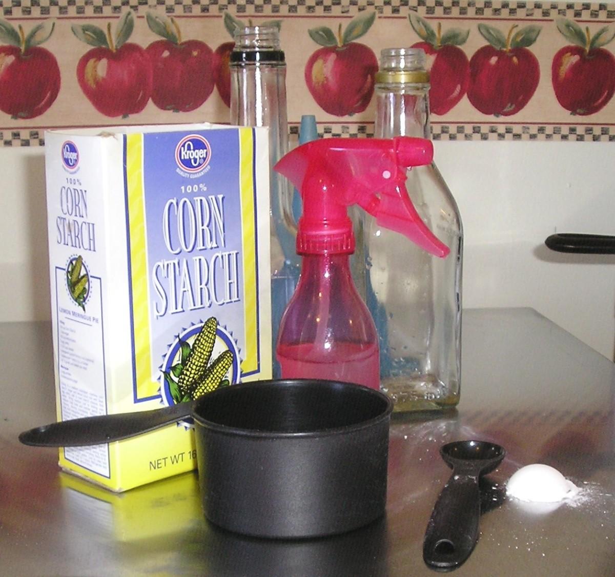 Homemade Spray Starch Recipe