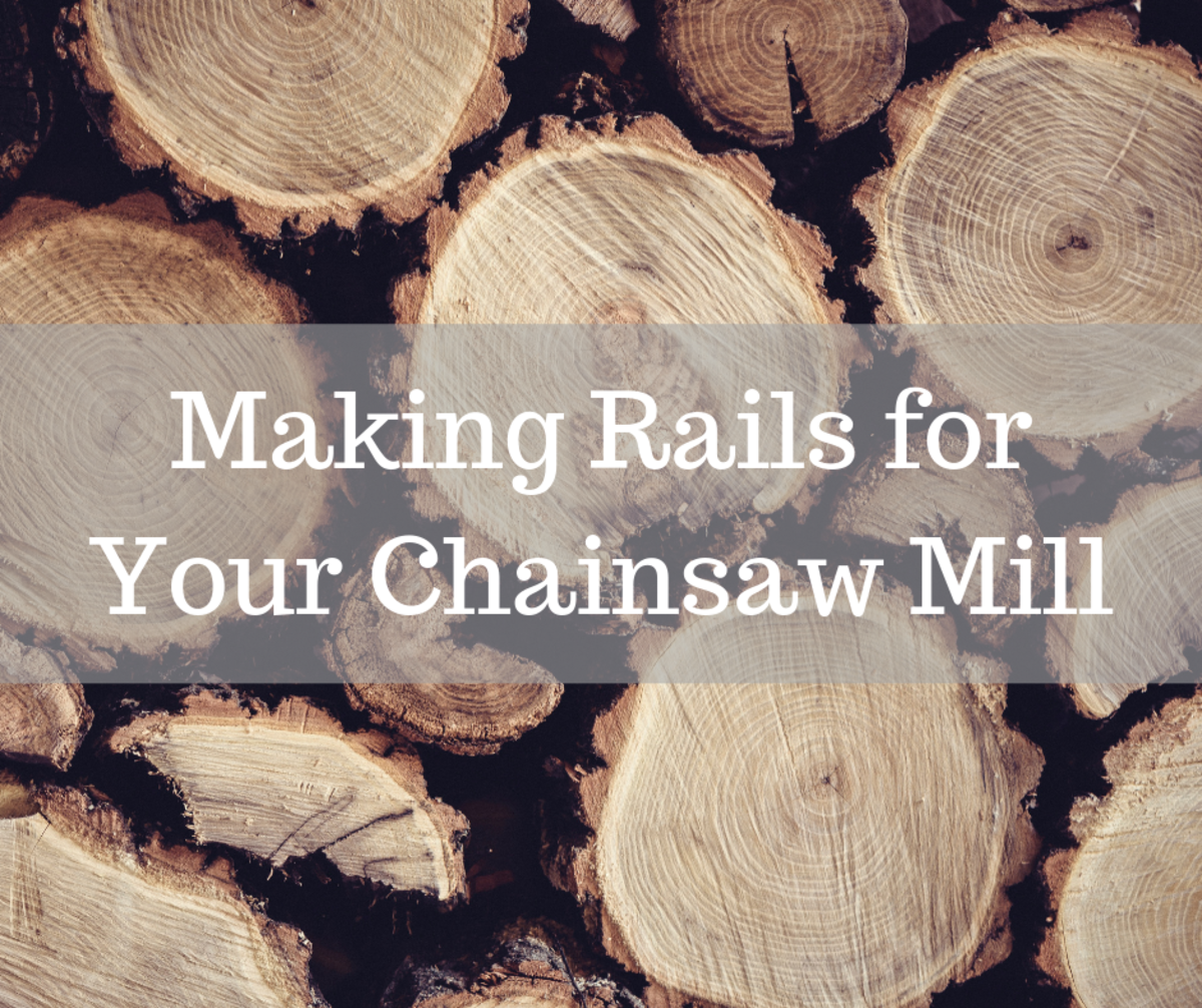 Turns out you don't need to purchase stock rails for your chainsaw mill after all.