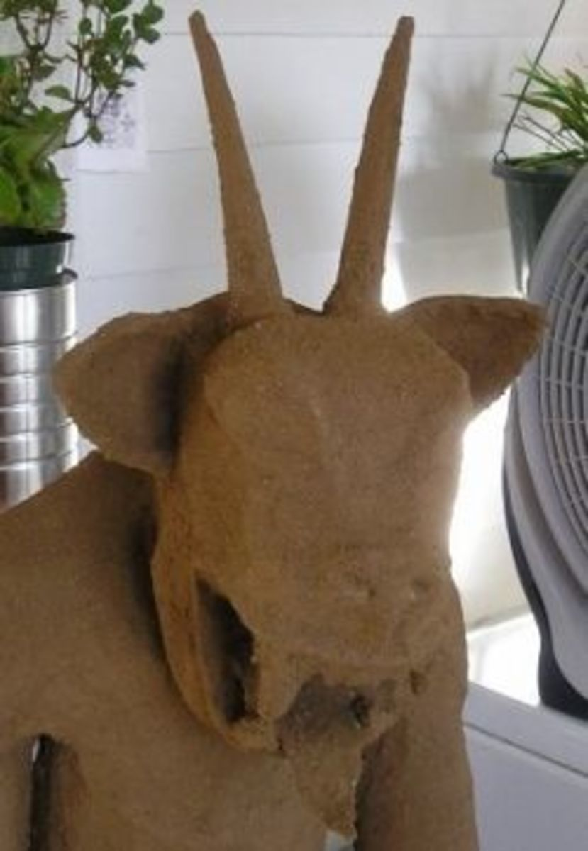 Make a Paper Mache Statue