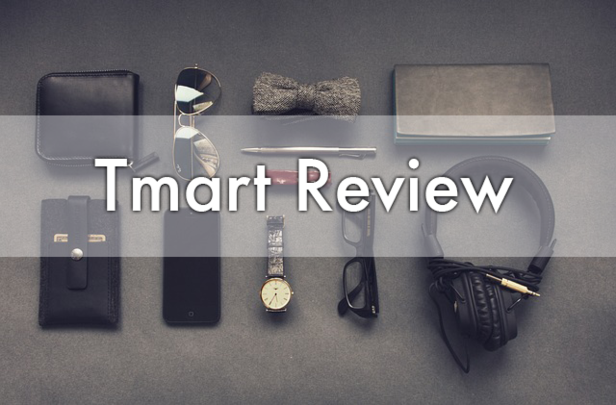 Review of Tmart, a Chinese company that offers inexpensive products with free shipping.