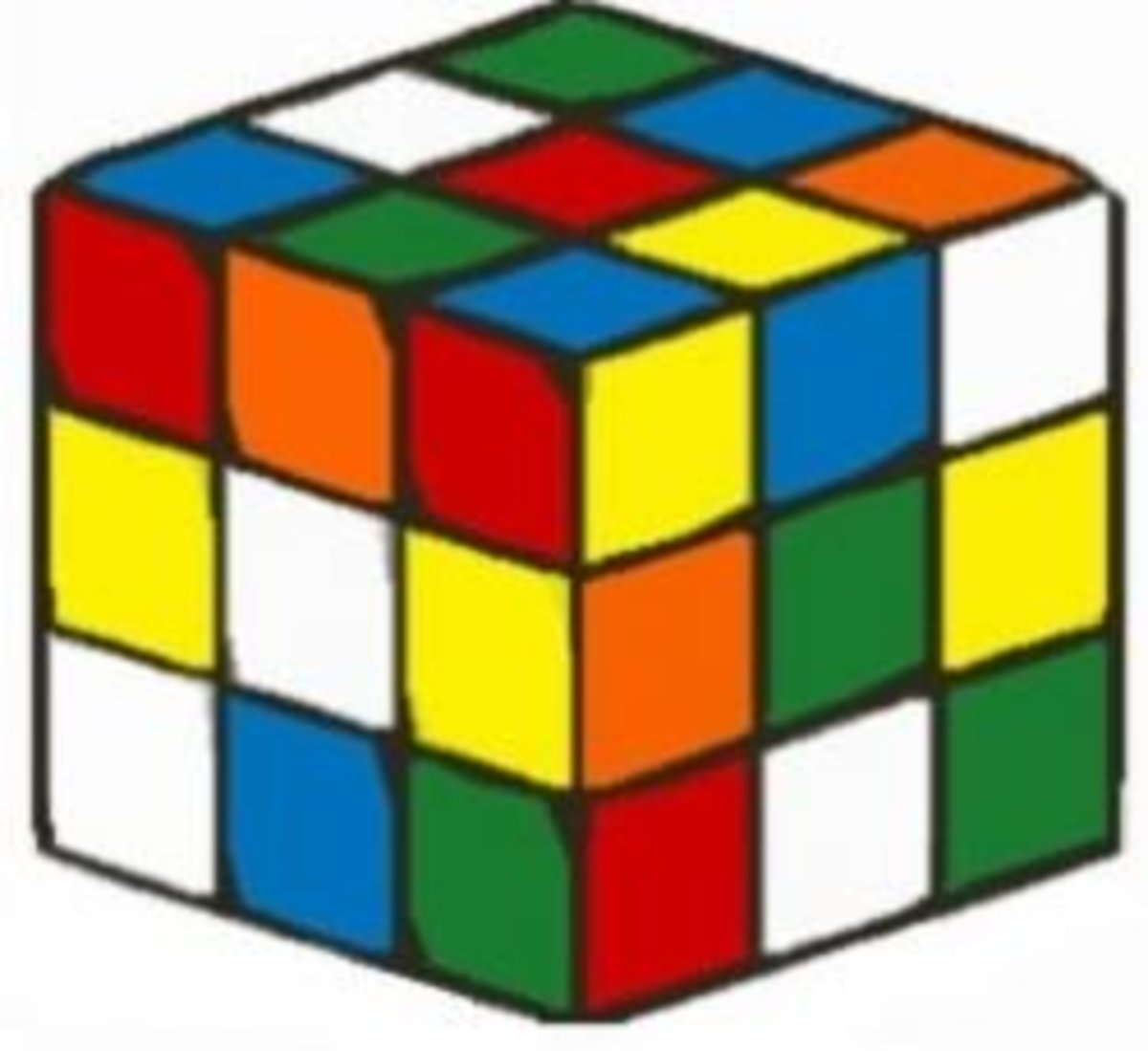 How to Solve a 3x3x3 Rubik's Cube Easily