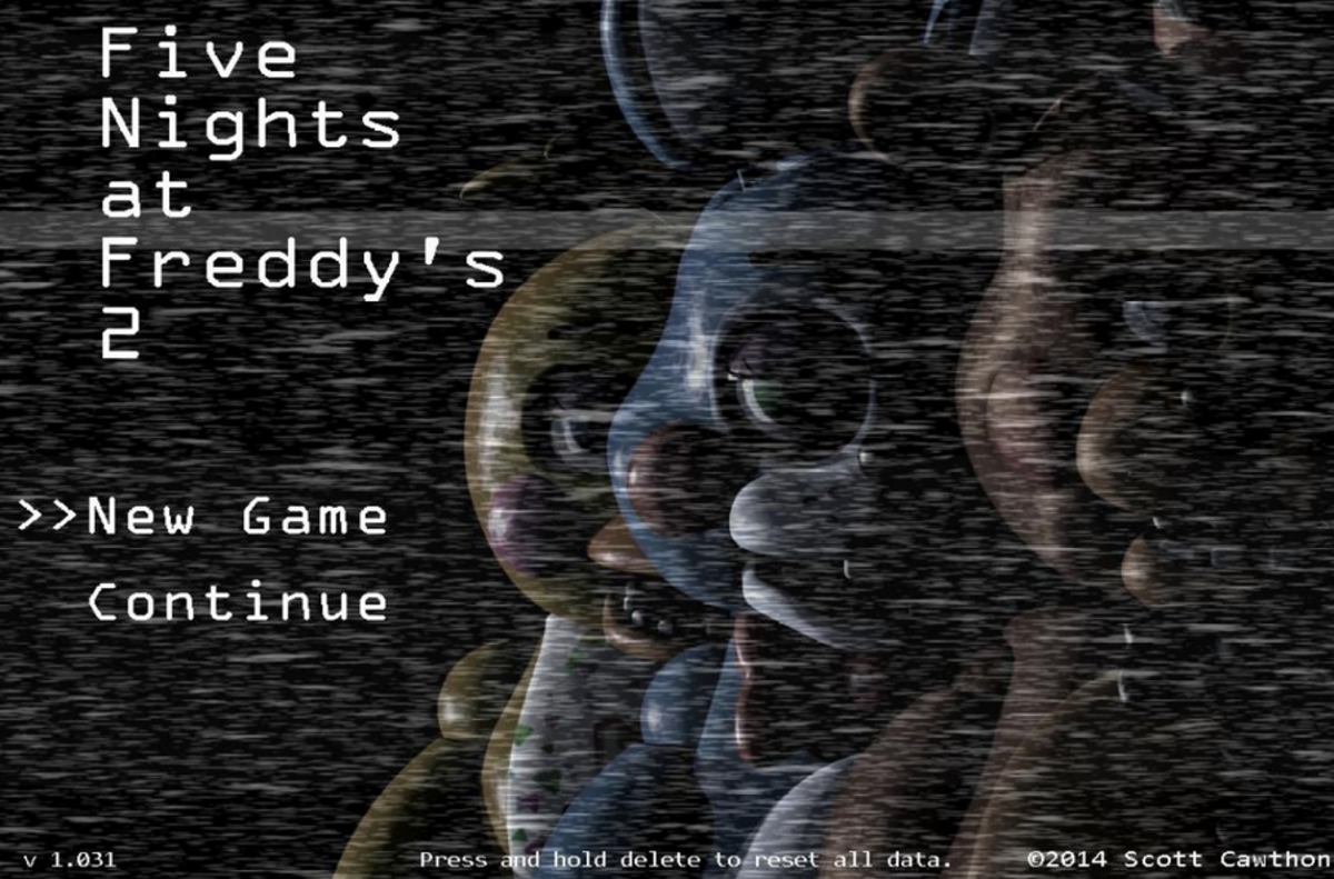 Five Nights at Freddy's 2 created and owned by Scott Cawthon. Images used for educational purposes only.