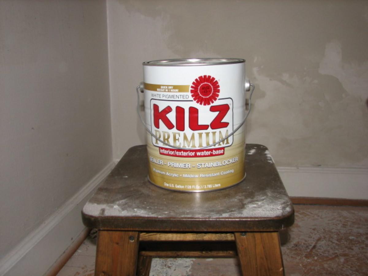 Kilz is my favorite sealer/primer