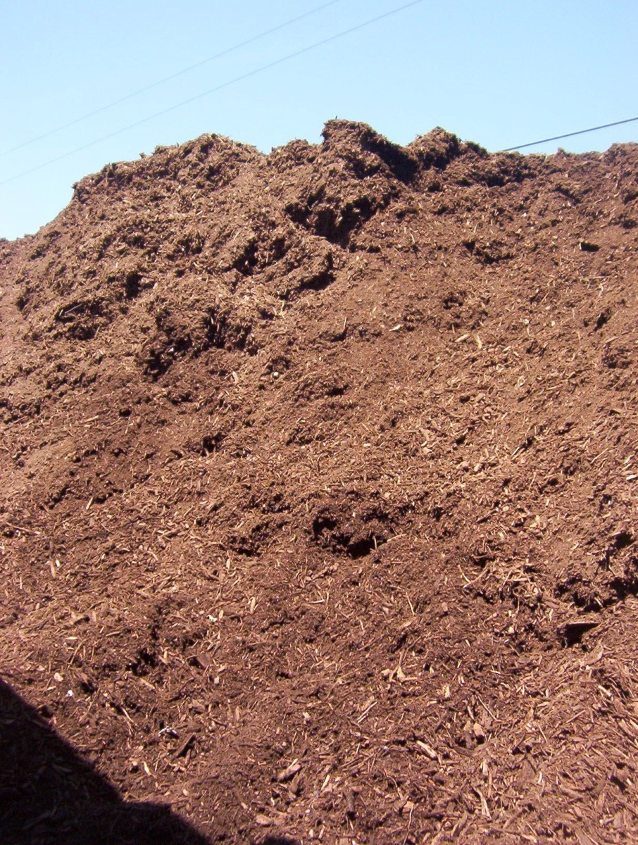 Mulch - our local dump offers free mulch to residents