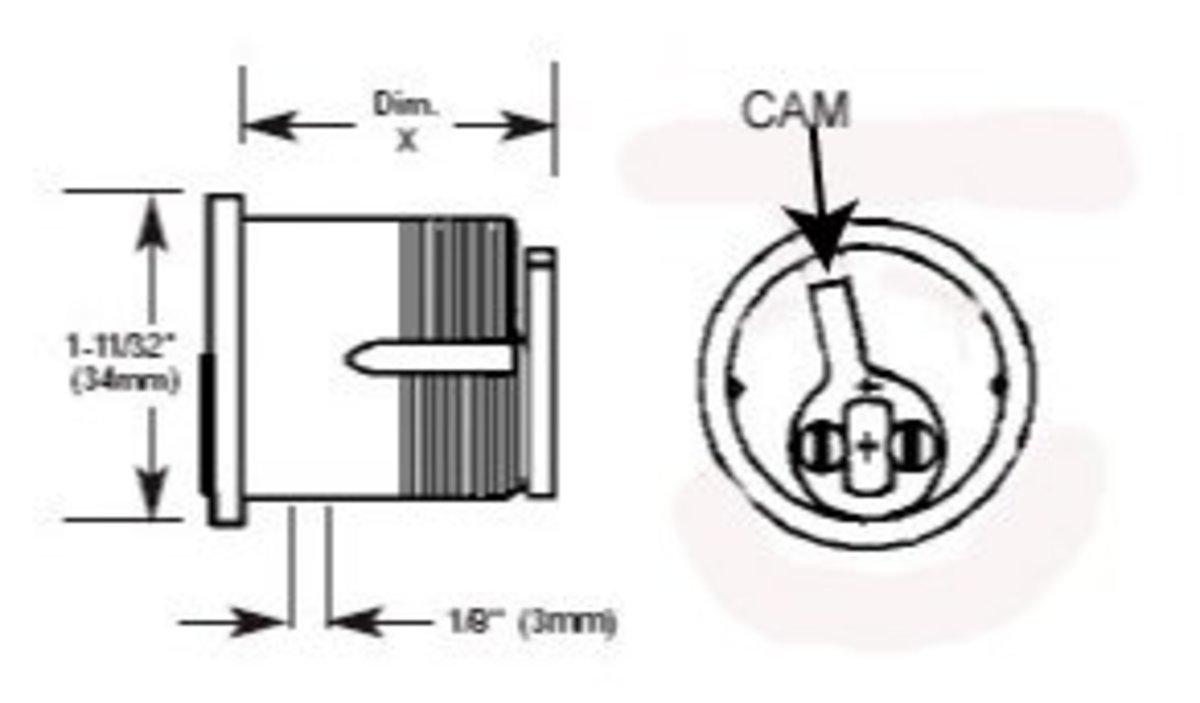 Mortise Cylinder