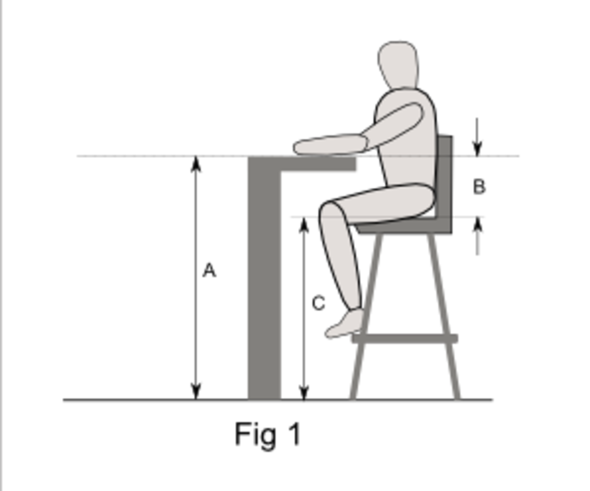 Bar Counter Height In Mm : Swivel Bar Stool Guide