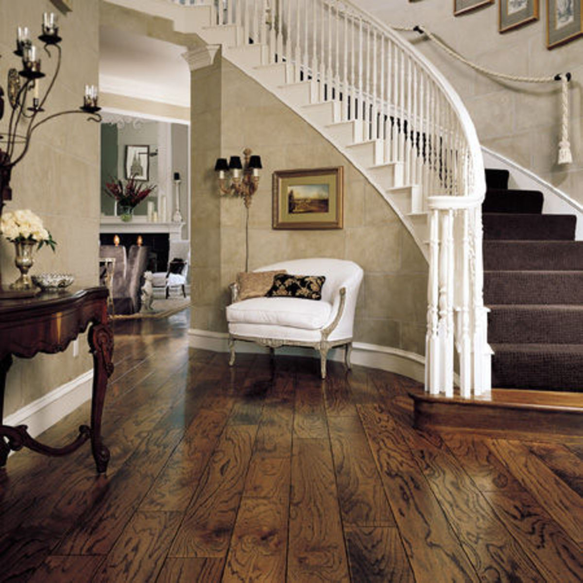 engineered hardwood floor - Different Types Of Flooring For Living