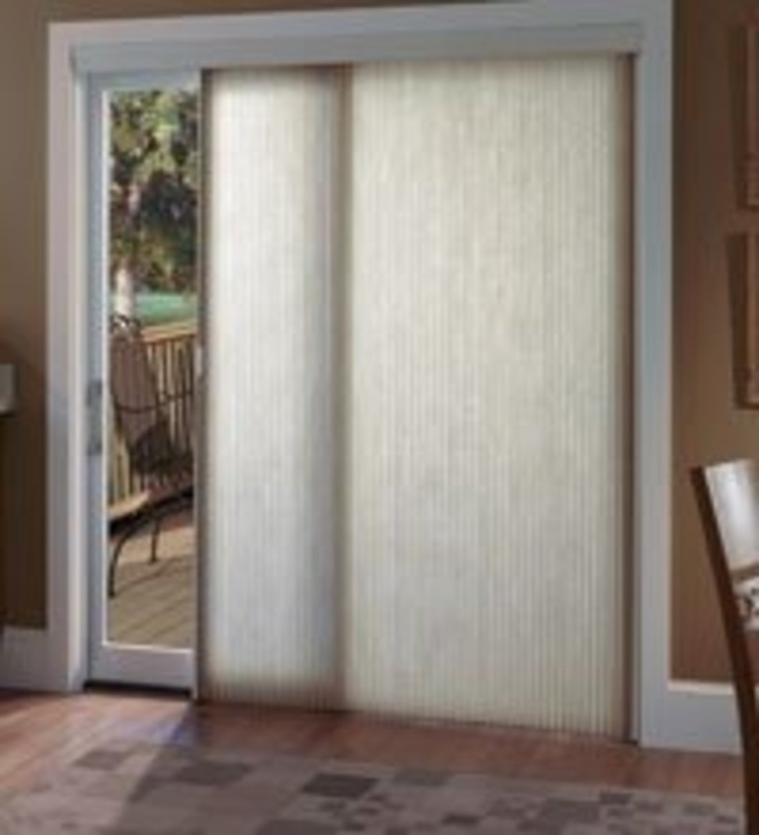 Decorating window covering for door : Window Treatments for Sliding Glass Doors | Dengarden