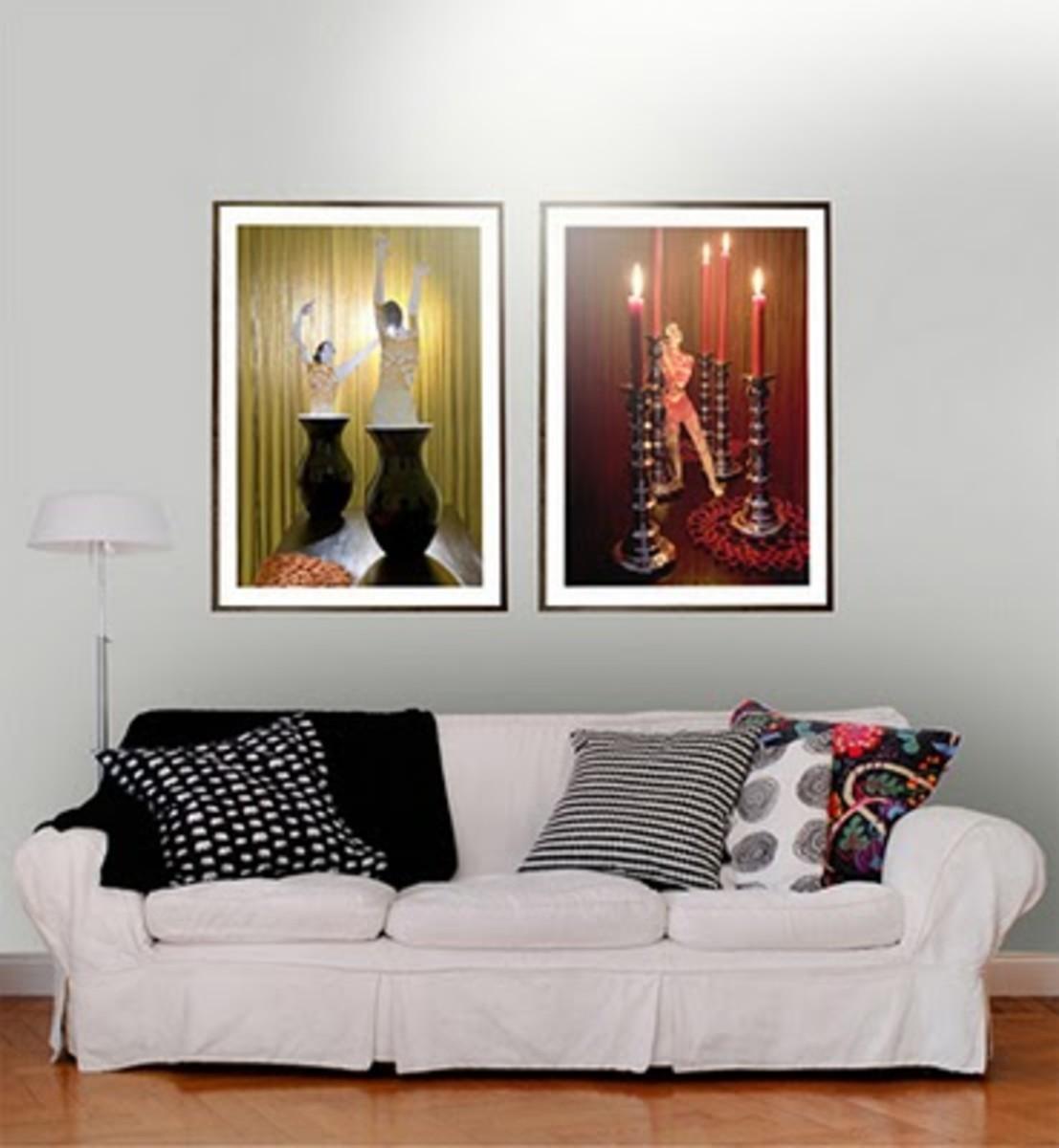 The art of hanging artwork