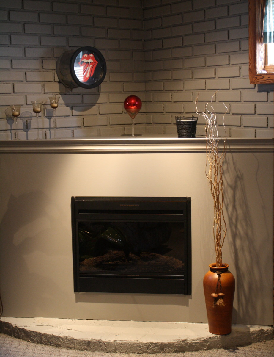 how to build a simple do it yourself corner fireplace