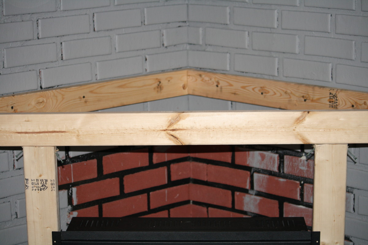 Building A Corner Fireplace Surround