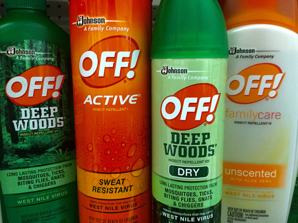 Bug spray is very effective at killing flies.