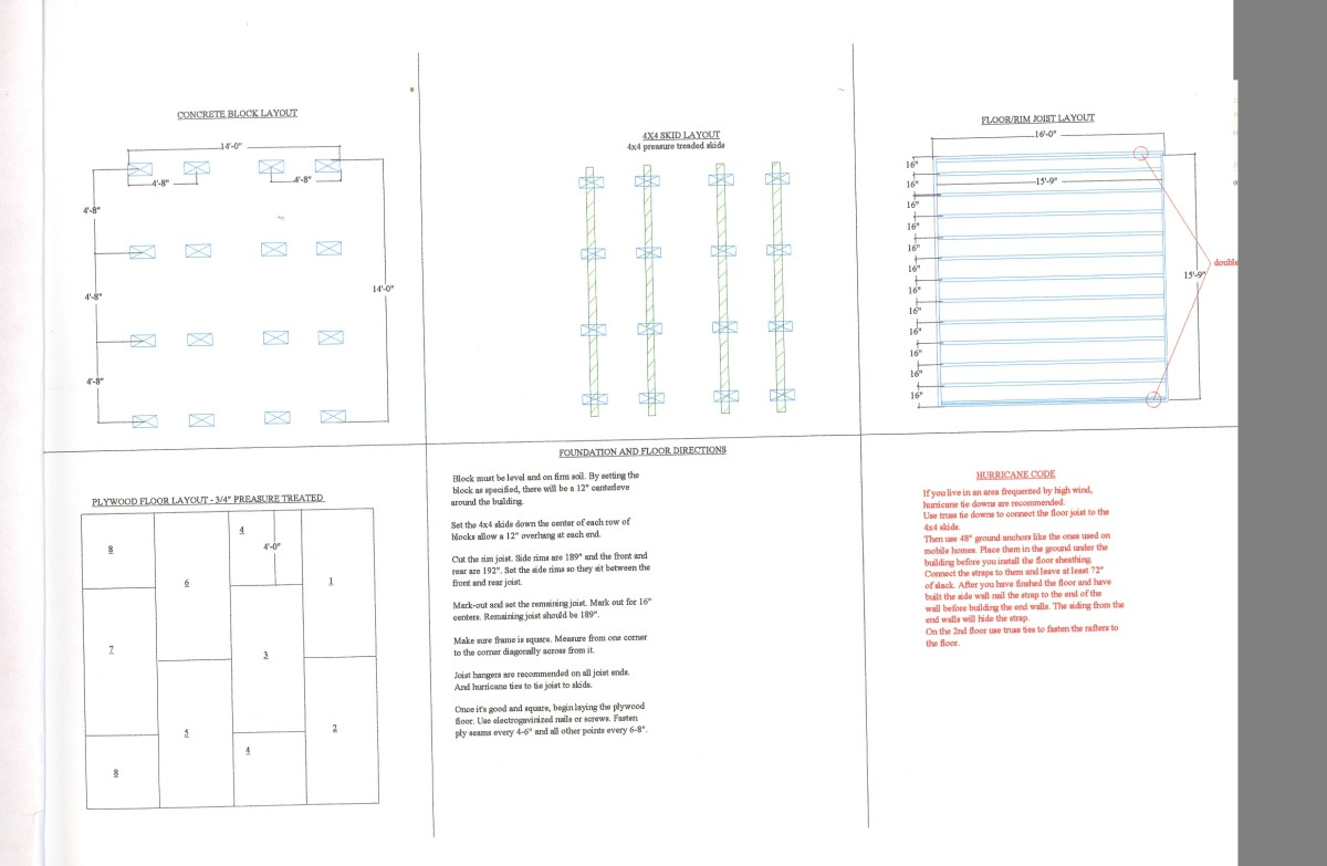 First page of plans.
