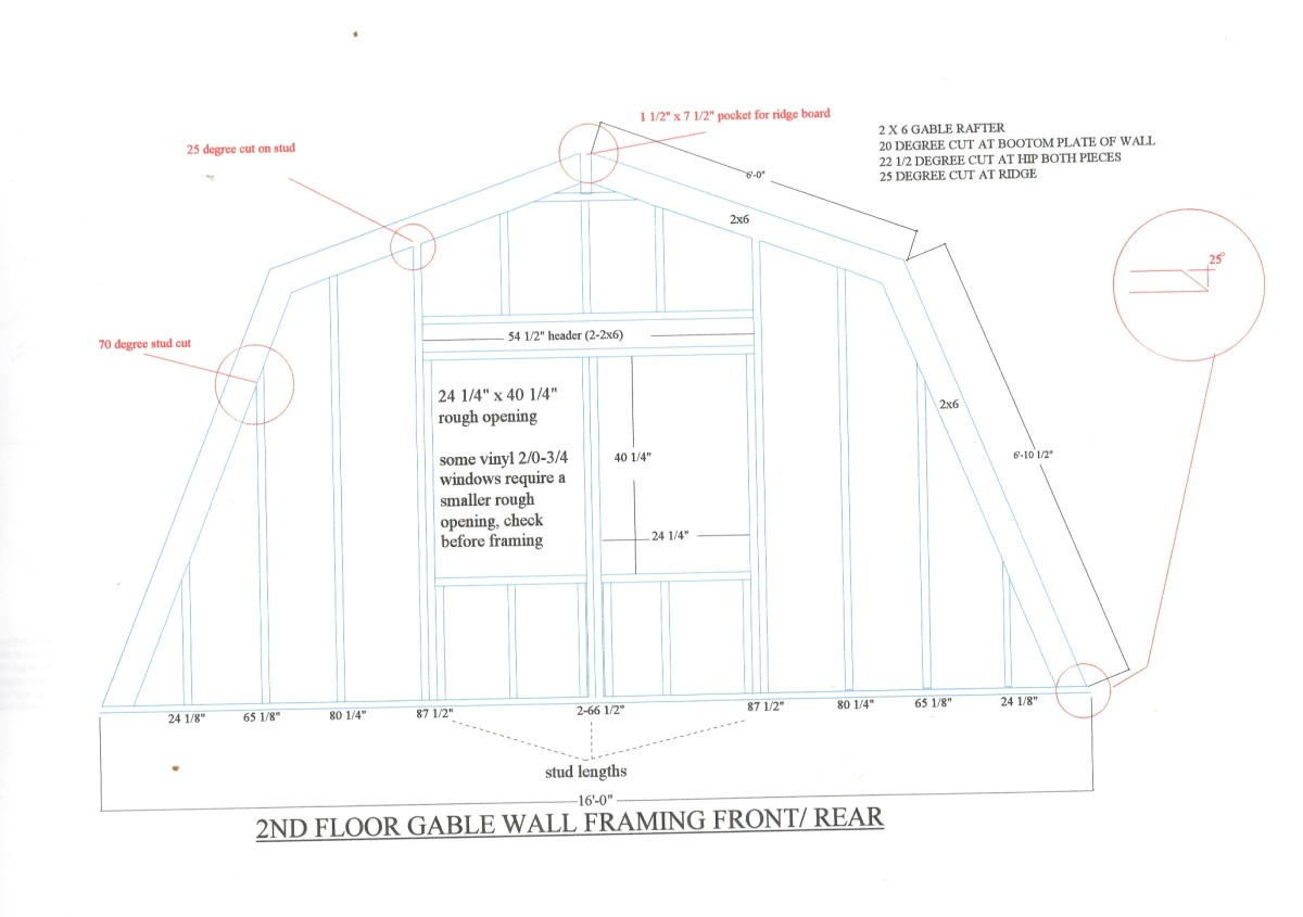Roofing plan.
