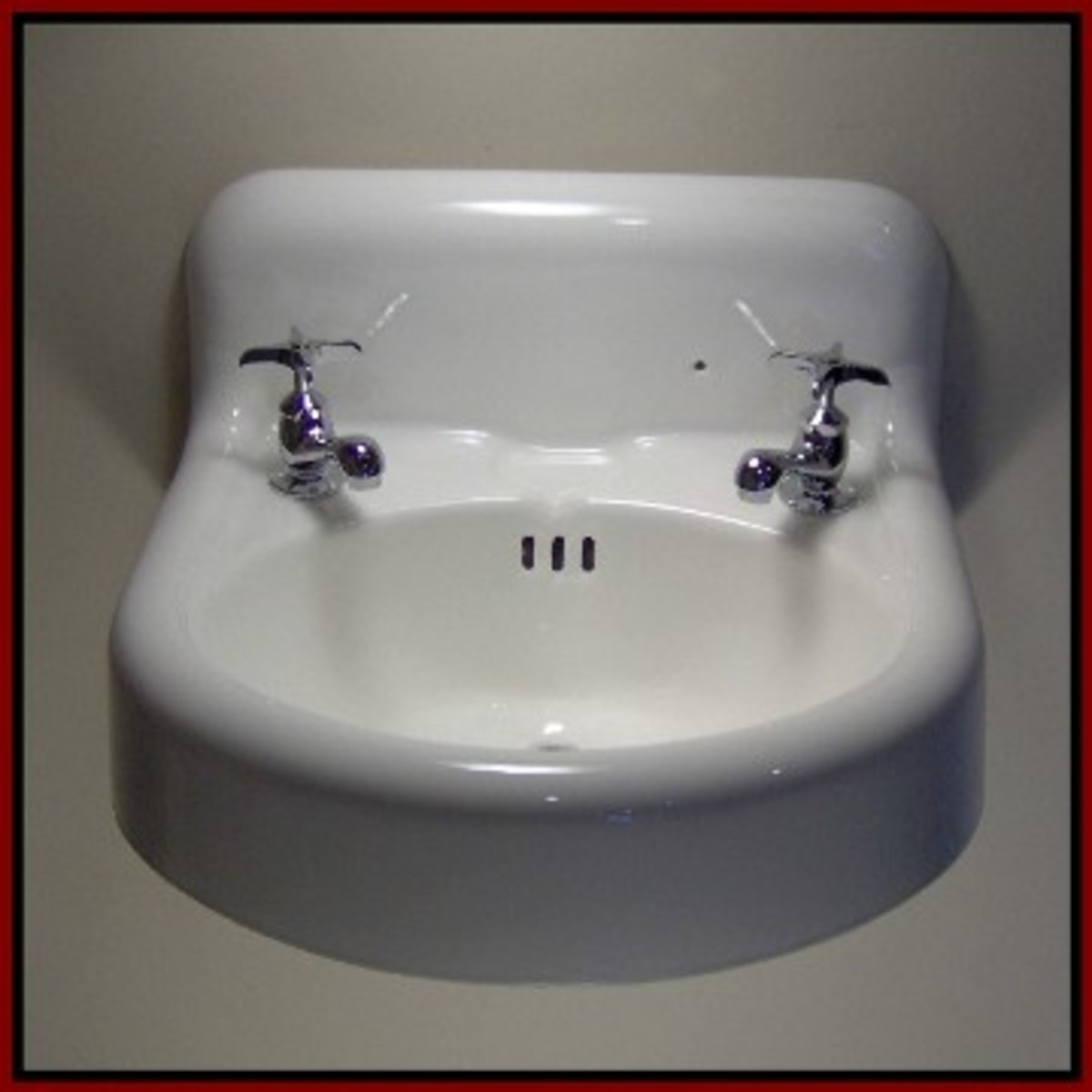 antique wall mount sink