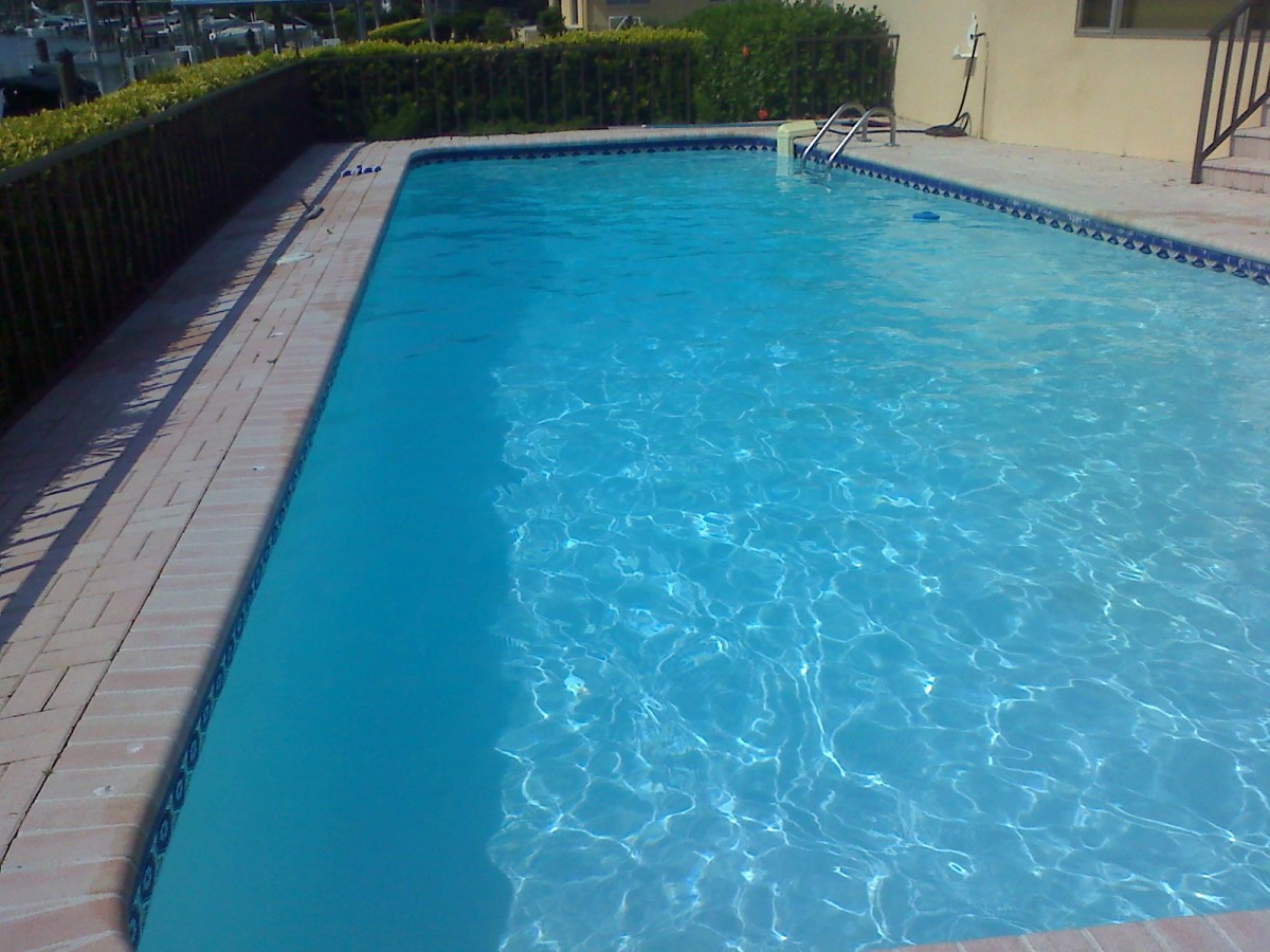 How To Use Floccing Agent To Clean A Green And Cloudy Pool Dengarden