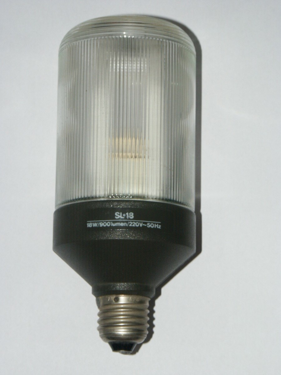 Philips CFL bulb from the 1980's