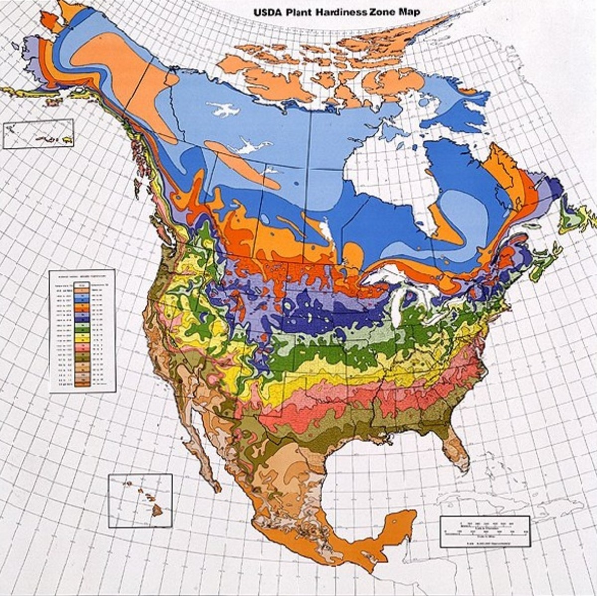 A Guide to USDA Hardiness Zones