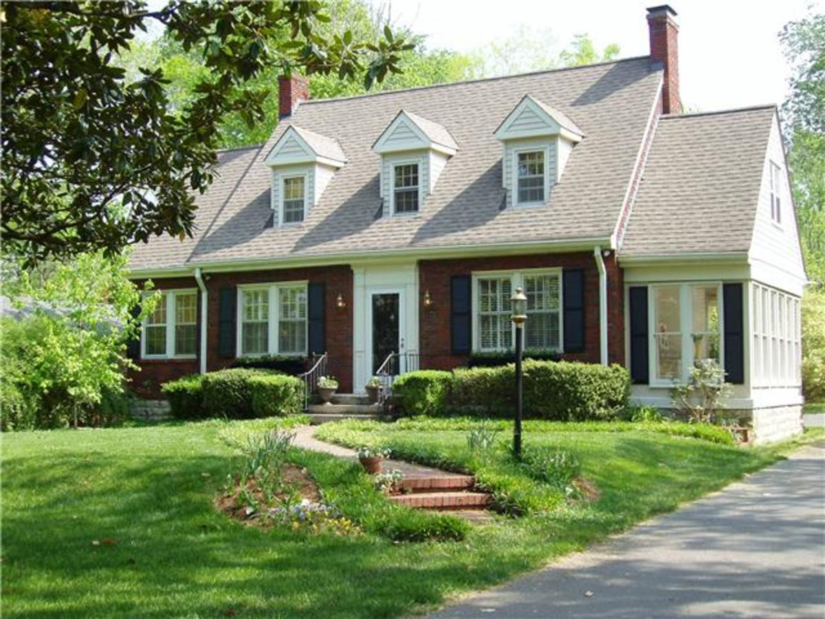 Nothing says Americana like a Cape Cod style home