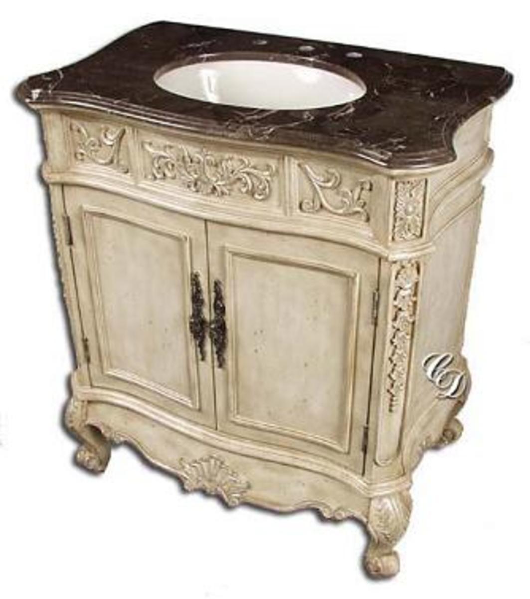A vanity sink