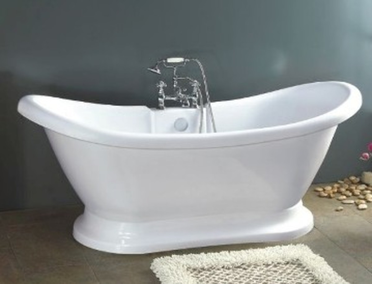 Vintage Tub And Bath Fixtures With Photos
