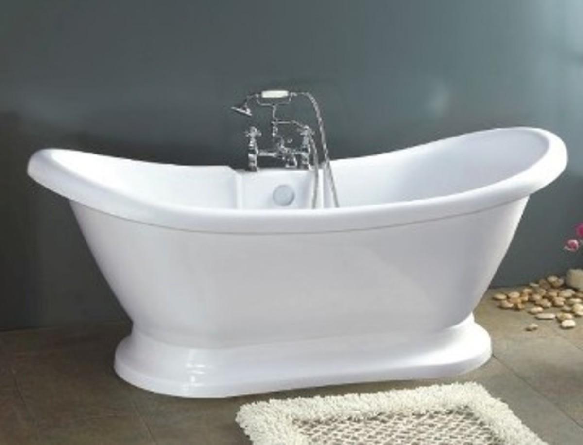 Vintage tub - pedestal tub
