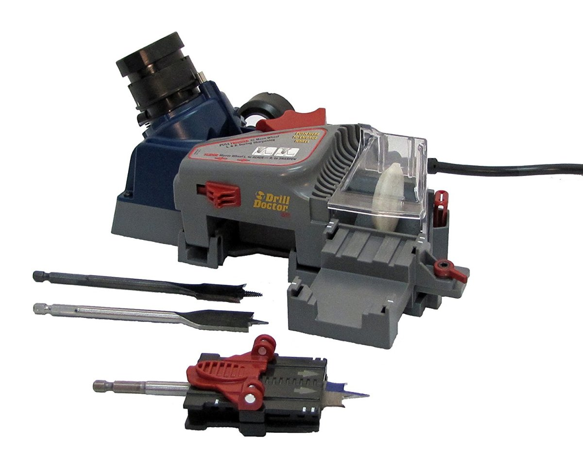 The DDSB, spade and twist drill sharpener