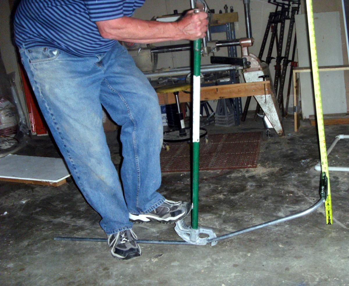 bending a kick 90