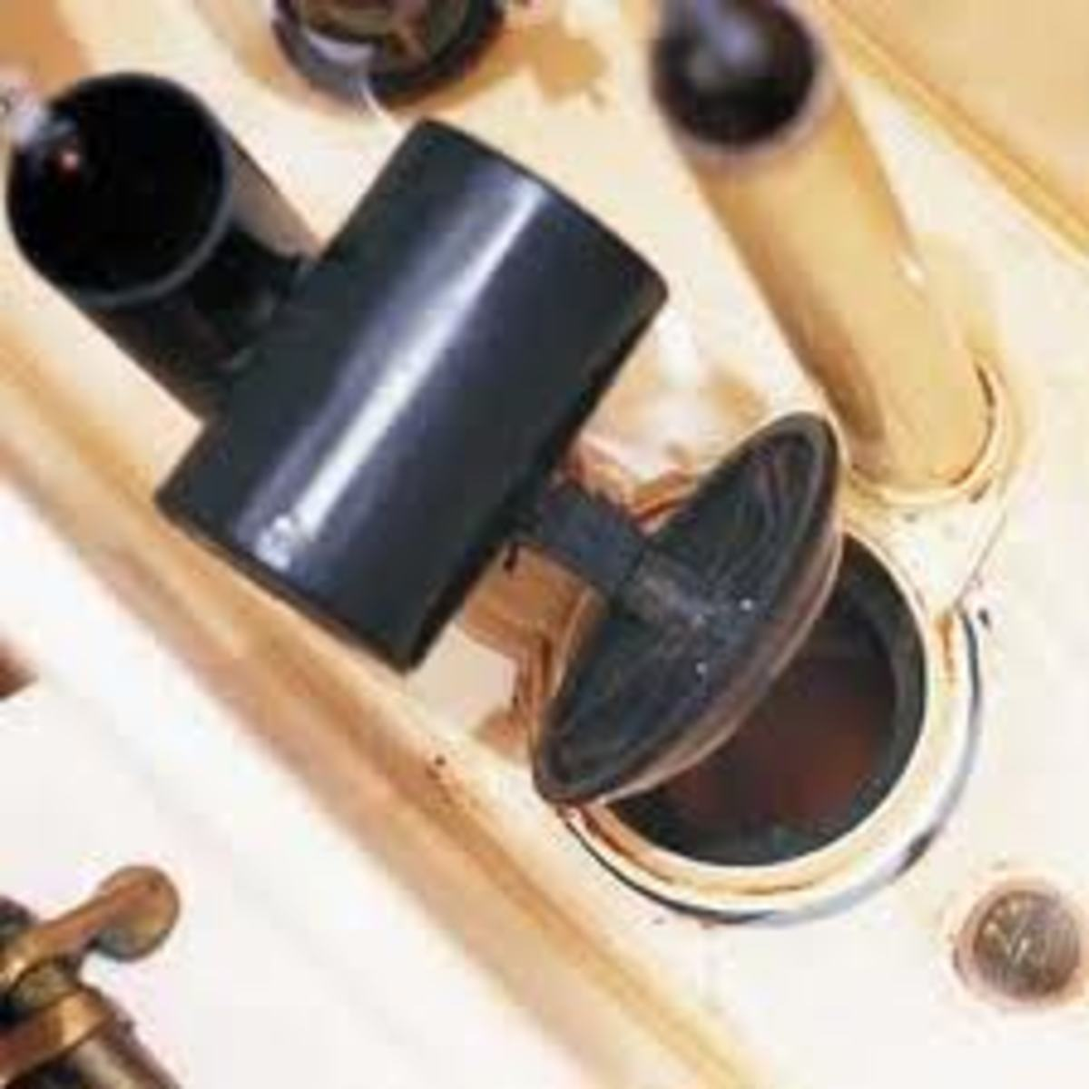 Worn out or damaged valve