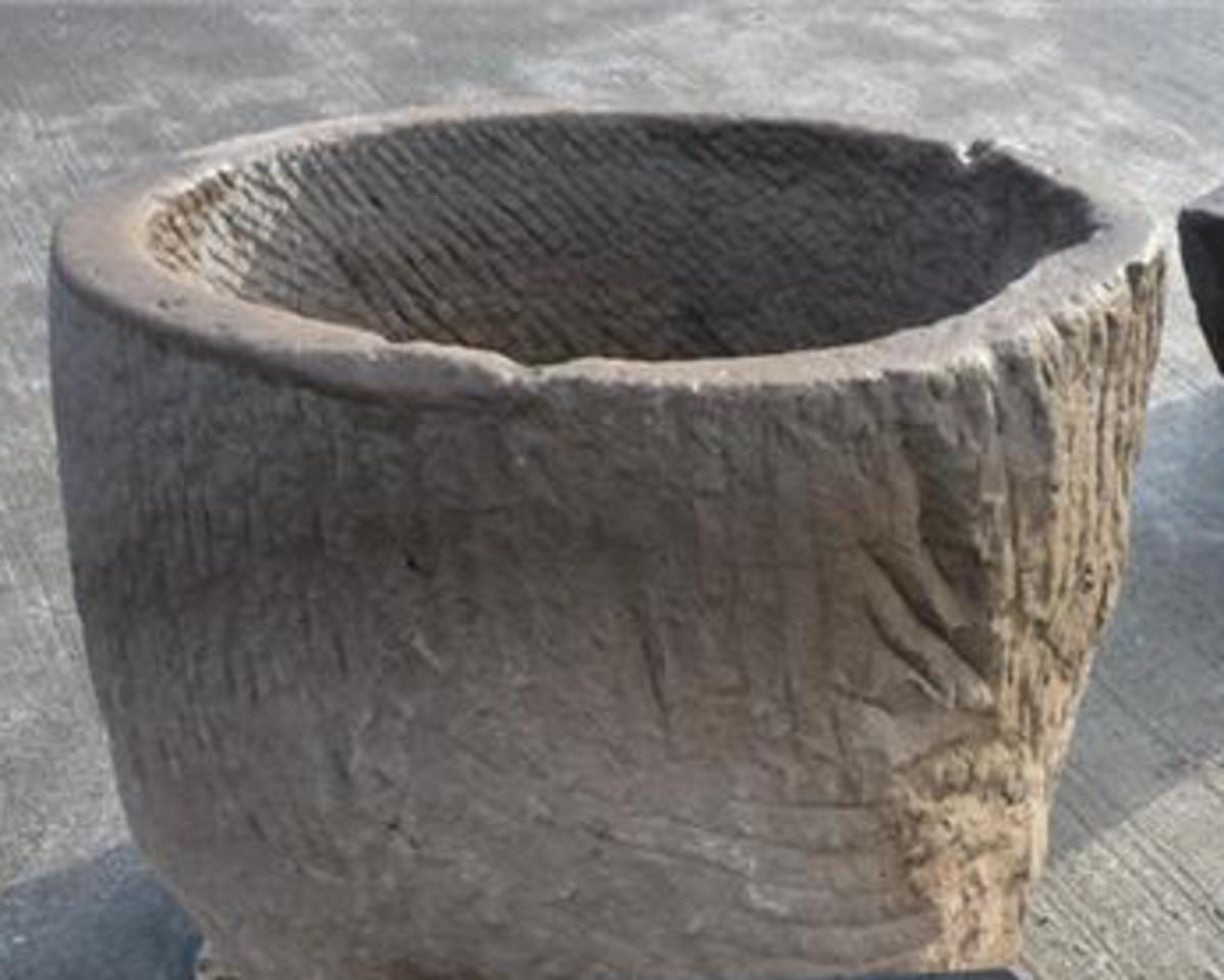 circular trough