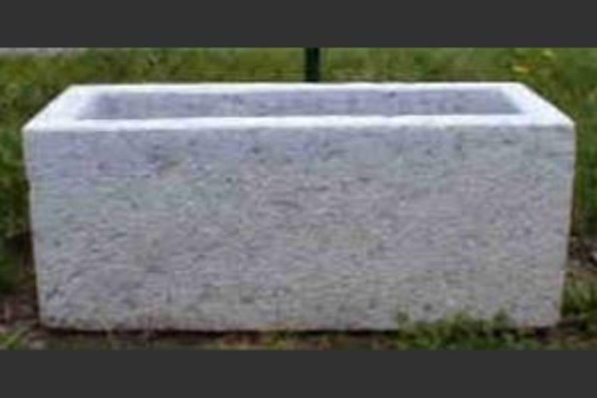 natural stone trough