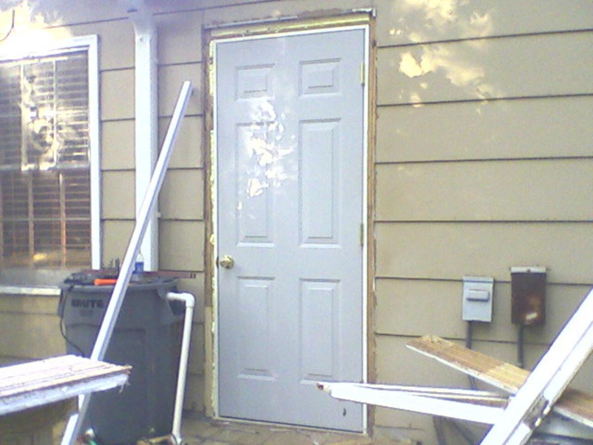 Door installed.
